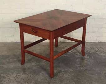 Beautiful Walnut Mid-Century Modern End Table / Side Table / Nightstand - SHIPPING NOT INCLUDED