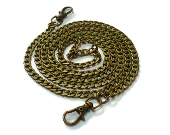 120cm (3,94 ft) chain antique brass  chanel like