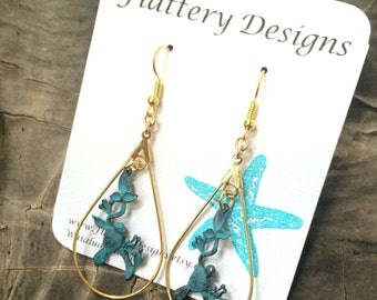 Bird on a Branch Earrings