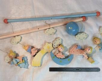 Irmi Wooden Angels Crib Mobile Parts