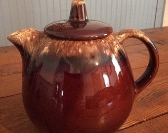 Brown Drip Teapot