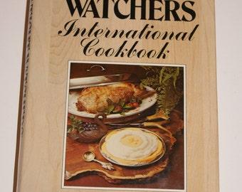 WEIGHT WATCHERS International Cookbook 1977 First Edition 11th Printing