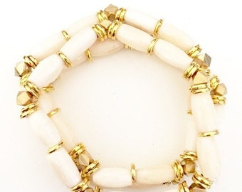 Lola Cream Bracelet