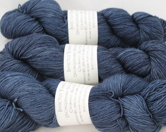 Blustery Unconquerable Sole BFL  BFL/nylon fingering weight sock yarn