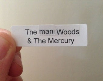 manwoods and the mercury perfume + unisex + natural witch hazel base + oakmoss + patchouli + cedar + lime + clary sage