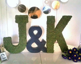 Moss Letters - 16""