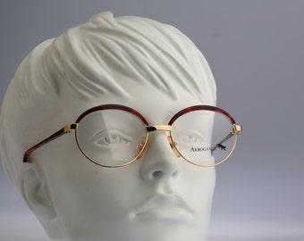 Arrogance A32 / Vintage sunglasses and eyeglasses / NOS / 90s rare and unique combo designer eyewear