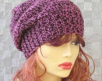 SALE HAT  Slouchy Beanie Womens Hat Knit Hat Winter Accessories