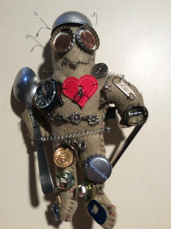 Steampunk Robot Doll