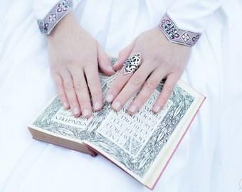 Medieval Ring; Princess Ring; Handmade Ring