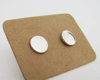 Dot studs - silver 7mm