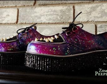 Glitter & Spike Galaxy Platform Creepers