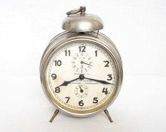 1930's German alarm clock GUSTAV BECKER Working