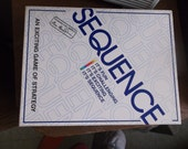 SEQUENCE board game 1995