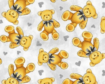On Sale 3 Days Only!!!!Baby Teddy Bears double layer fleece Print Made to Order Blanket