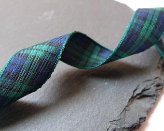 Blackwatch Scottish Tartan Ribbon 16mm Berisfords - 2