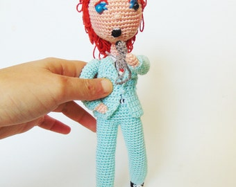 David Bowie - life on Mars - amigurumi version