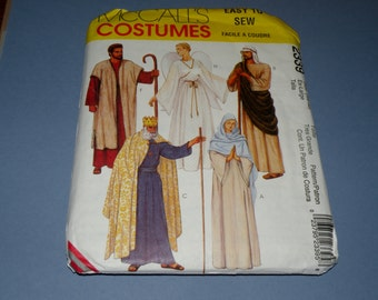 McCalls 2339 XL Uncut Nativity Pattern