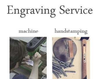 Listing for Engraving Service