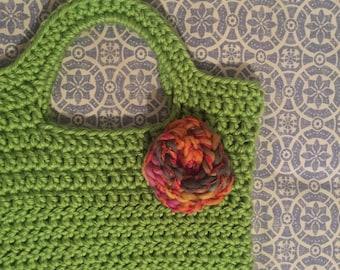 Shopping or beach Crochet bag