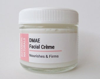 DMAE Facial Moisturizer, Rosehip & Hibiscus Face Cream, Natural Skin Care