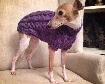 Italian Greyhound Sweater - Custom Medium Weight Handmade