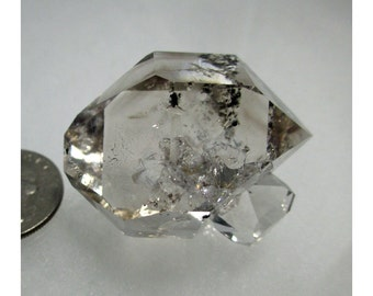 36.5 Gram Herkimer Diamond Crystal Cluster - ww811