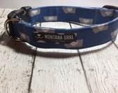 Dog or Cat Collar...Love Montana Blue
