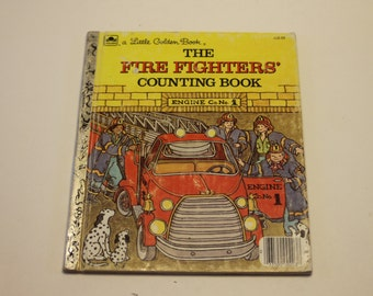 A Little Golden Book: TheFire Fighters' Counting Book - Children's Book, Numbers Book, Learn