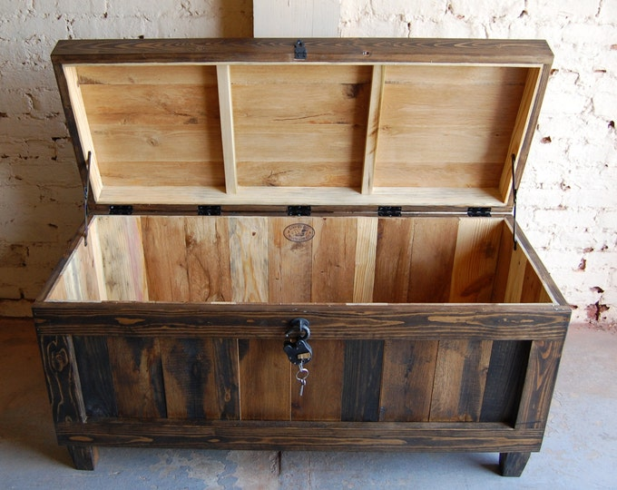 hope chest trunk bench entryway wedding gift reclaimed wood - Hope Chests