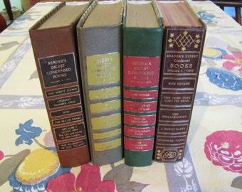 Vintage Reader's Digest Condensed Books