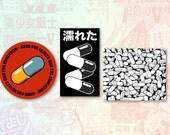 Akira Set of 3 Stickers