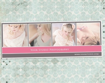ON SALE Facebook Timeline PSD Template - Photography, Newborn Photography Facebook - Customize Facebook Page - Instant Download
