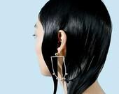 Track Ball Knocker Earrings