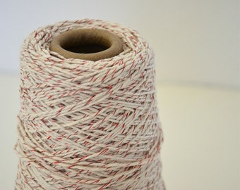 Bicolor Cotton Twine / Metalic Red Cotton Twine / Thick Cotton Twine / 25 Yards