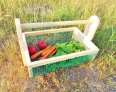 Vegetable Hod Garden Tote Harvest Basket LARGE