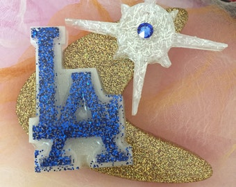 SALE! Los Angeles - Dodgers Atomic Lucite Pin