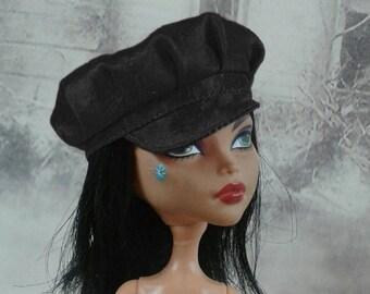 Black baker boy doll hat