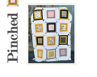 Pinched Quilt Pattern - Great for Beginners!