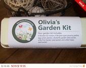 Child's Gardening Kit, Personalized Child's Garden Kit, Craft Kit for Kids, Kid's Gardening Kit, Easter Gift, Valentine Gift