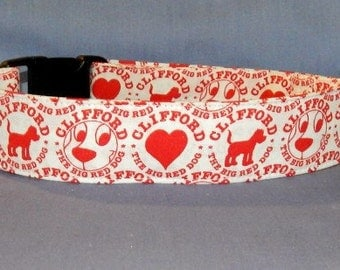 Clifford the Big Red Dog collar