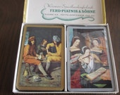 Vintage Ferd Piatnik & Sohne Playing Cards