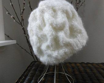 Cable Twist Knit Hat