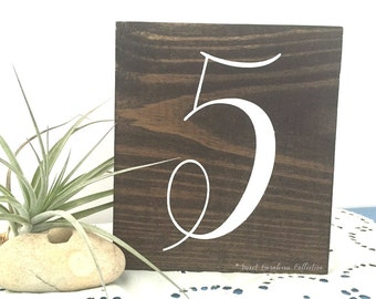 Table Numbers | Wedding Table Numbers | Table Number | Wedding Table Decor | Rustic Wedding Table Numbers | Table Number Wedding - TB-36