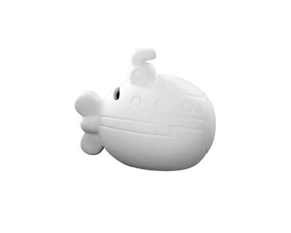 Submarine piggy bank ceramic bisque paintable pottery for Bisque ceramic craft stores