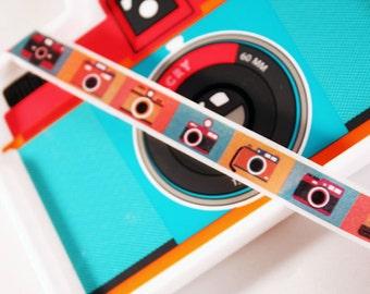 Color Camera Washi Tape