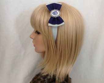 Harry potter ravenclaw house crest headband hair bow rockabilly psychobilly pin up Slytherin hogwarts hufflepuff geek girls ladies