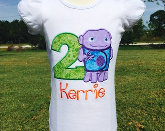 OH HOME-Personalized Embroidered Birthday Bodysuit or T-shirt