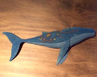 Vintage Whale OOAK
