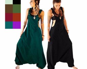 Harem Jumpsuit - Overalls - Women - loose jumpsuit - dungarees
